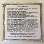 3 lb. 4 oz. of Organic Essiac blended herbs in THIRTEEN (13) 4 oz. sealed/labeled packets